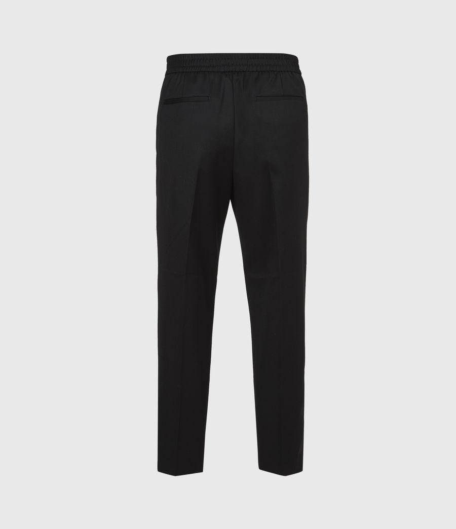 Men's Branfield Cropped Slim Trousers (black) - Image 3