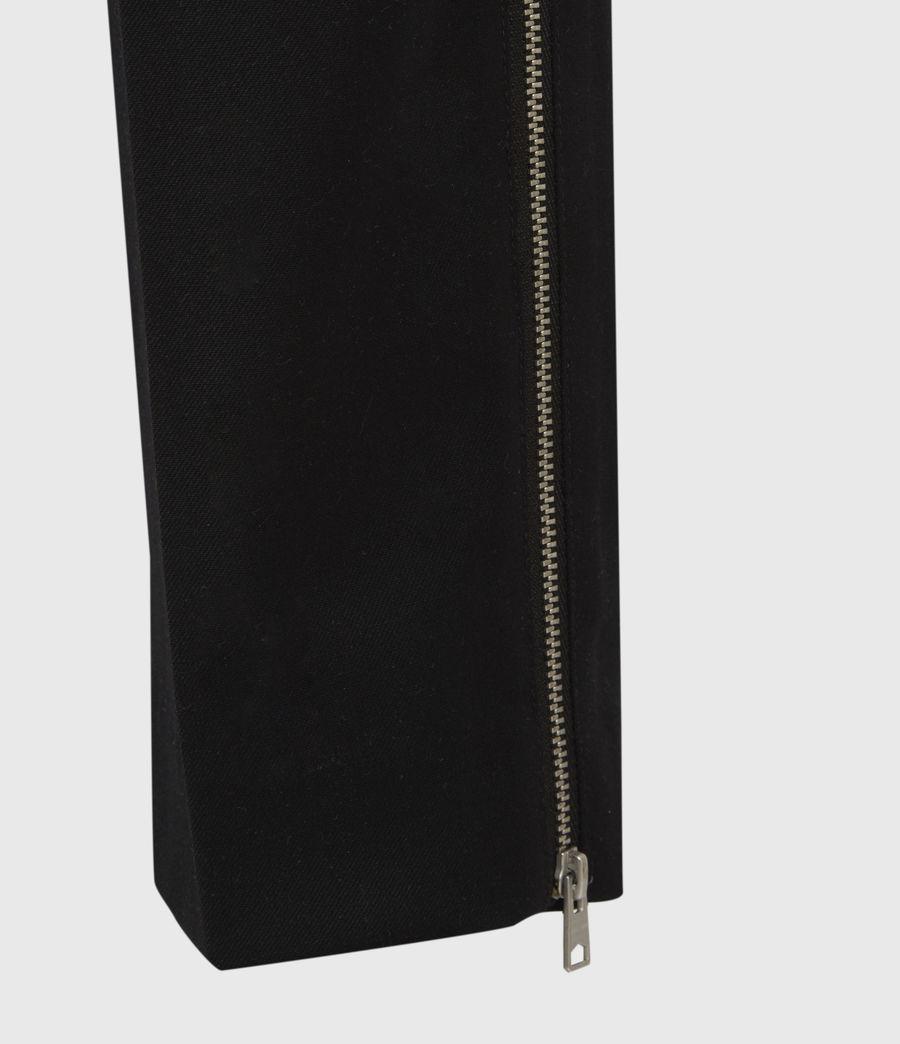 Men's Branfield Cropped Slim Trousers (black) - Image 6