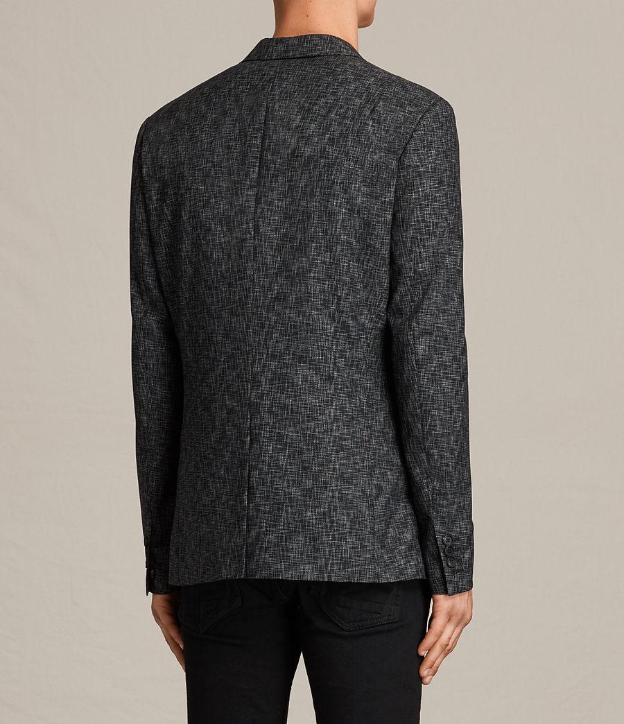 Mens Farndale Double-Breasted Blazer (black_grey) - Image 4