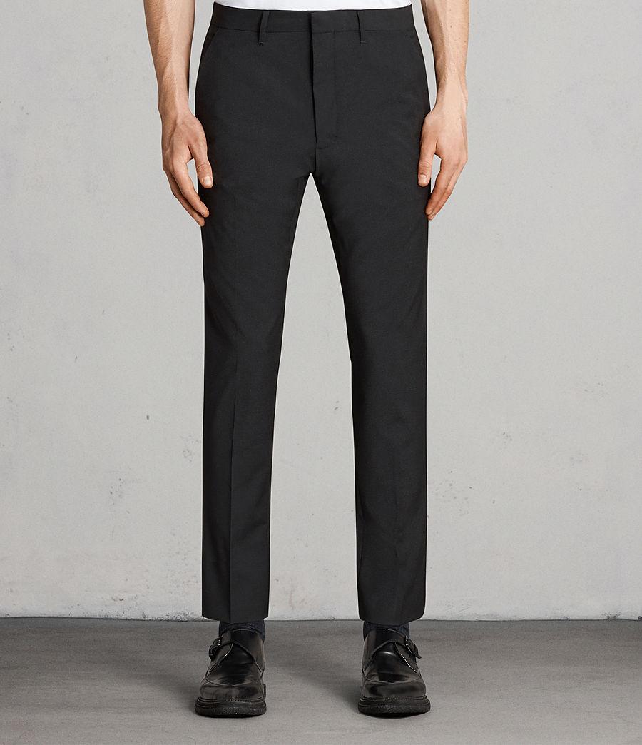 Men's Kente Trouser (black) - Image 1