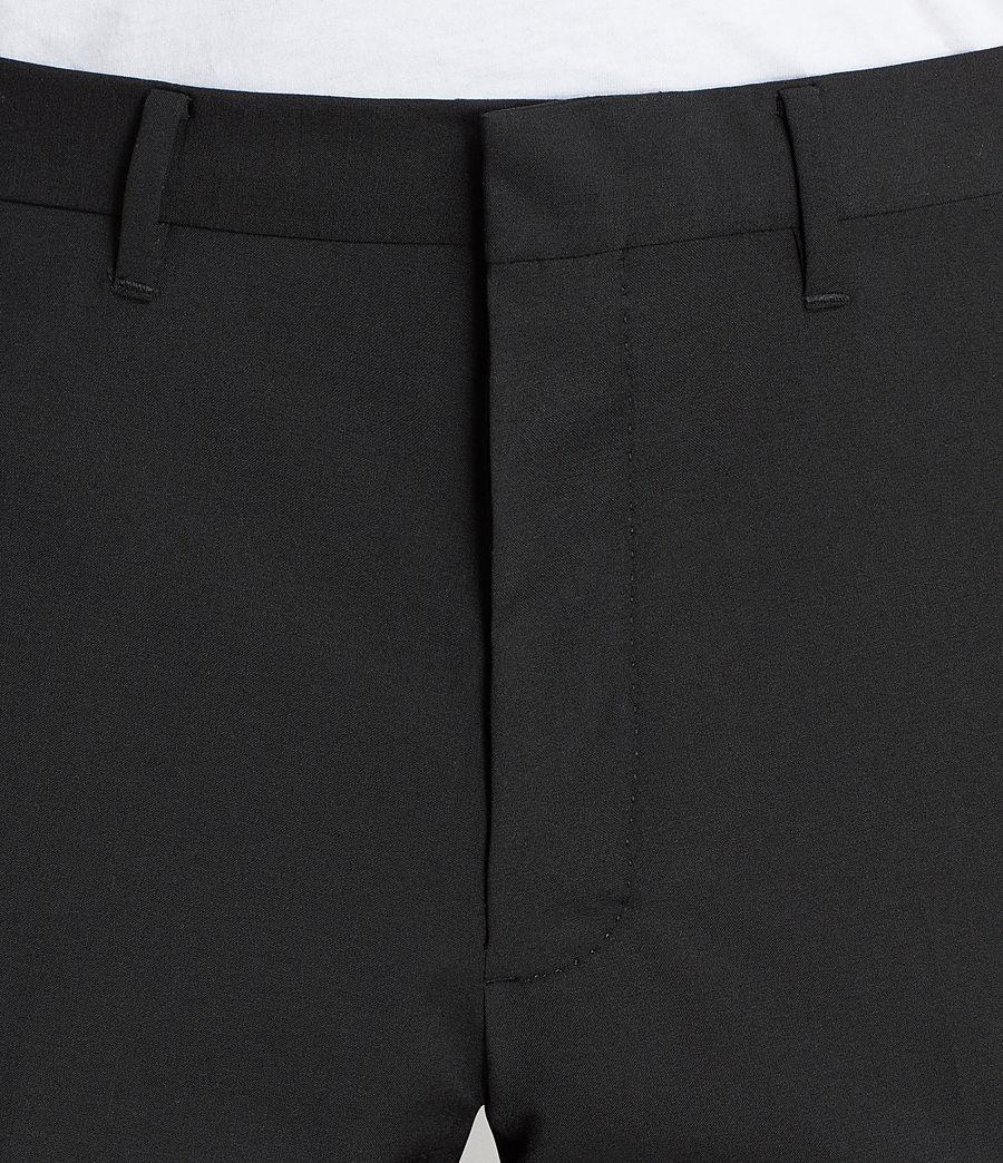 Men's Kente Trouser (black) - Image 2