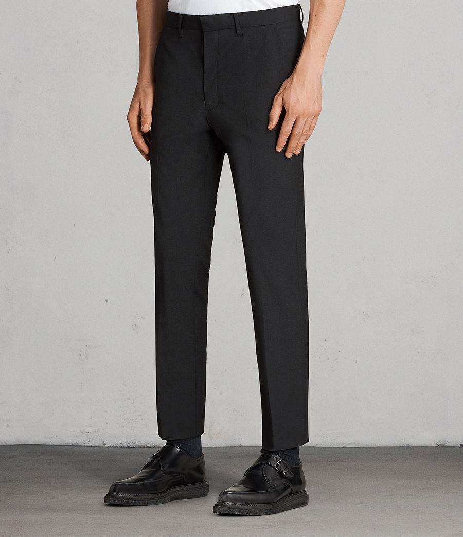 Men's Kente Trouser (black) - Image 3