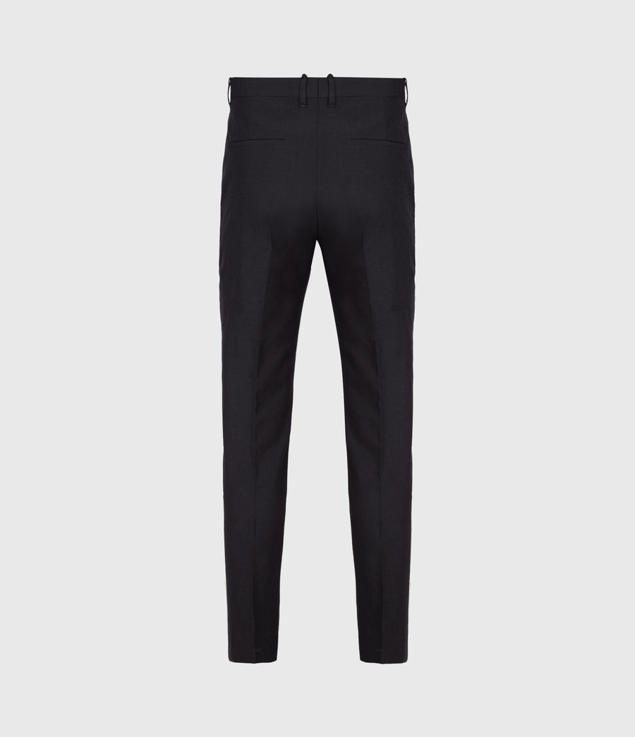 Men's Kennel Cropped Slim Trousers (midnight) - Image 3