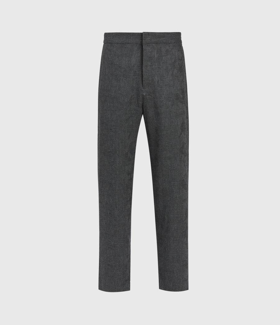 Men's Kite Cropped Slim Trousers (grey) - Image 2