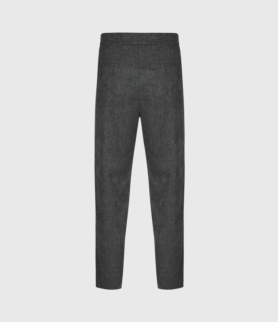 Men's Kite Cropped Slim Trousers (grey) - Image 3