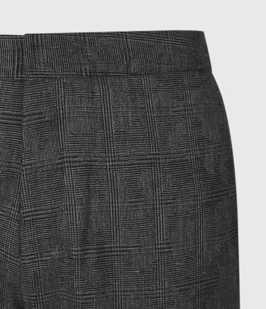 Men's Kite Cropped Slim Trousers (grey) - Image 5