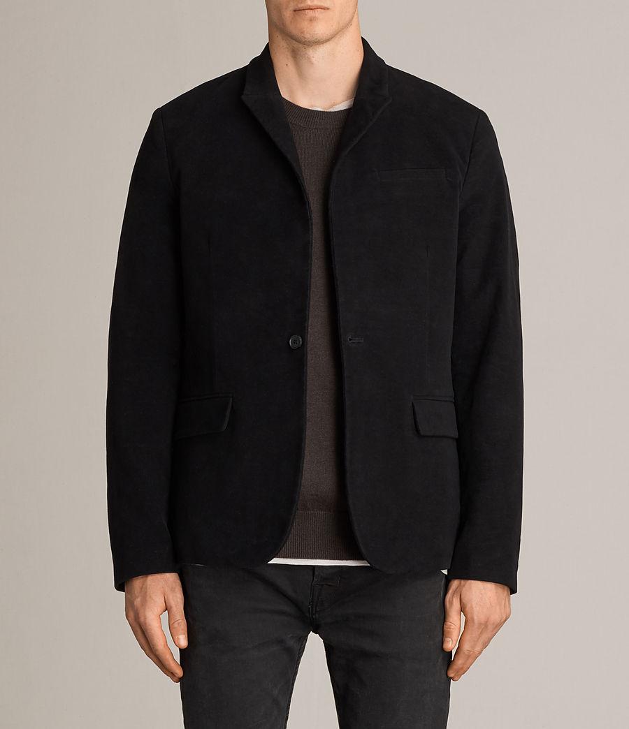 Uomo Blazer Wards (black) - Image 1