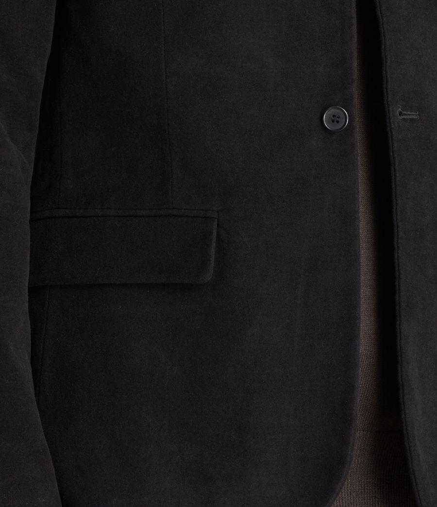 Hombres Blazer Wards (black) - Image 2