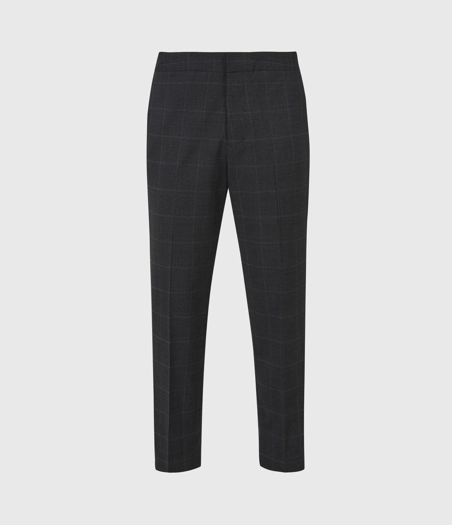 Hommes Pantalon Slim Raccourci Garth (charcoal) - Image 2