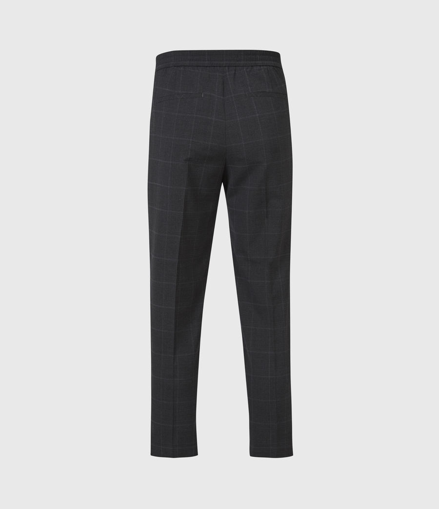 Hommes Pantalon Slim Raccourci Garth (charcoal) - Image 3