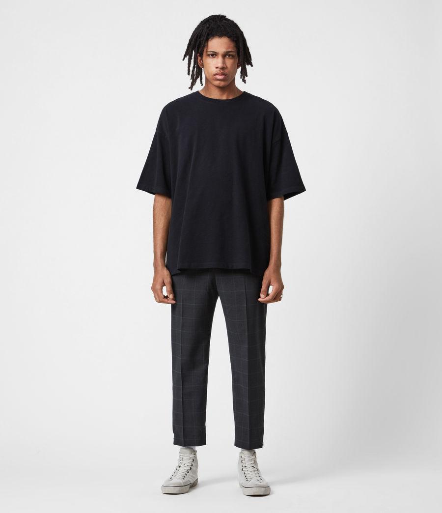 Hommes Pantalon Slim Raccourci Garth (charcoal) - Image 4