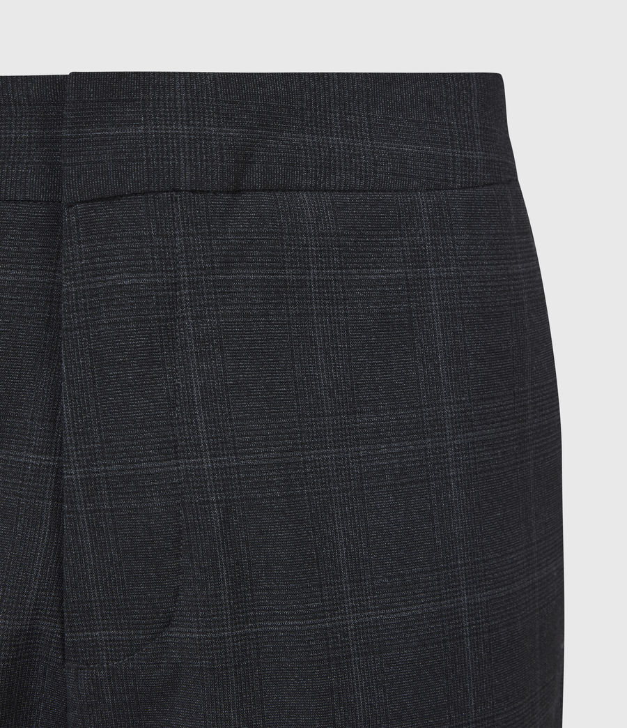 Hommes Pantalon Slim Raccourci Garth (charcoal) - Image 5