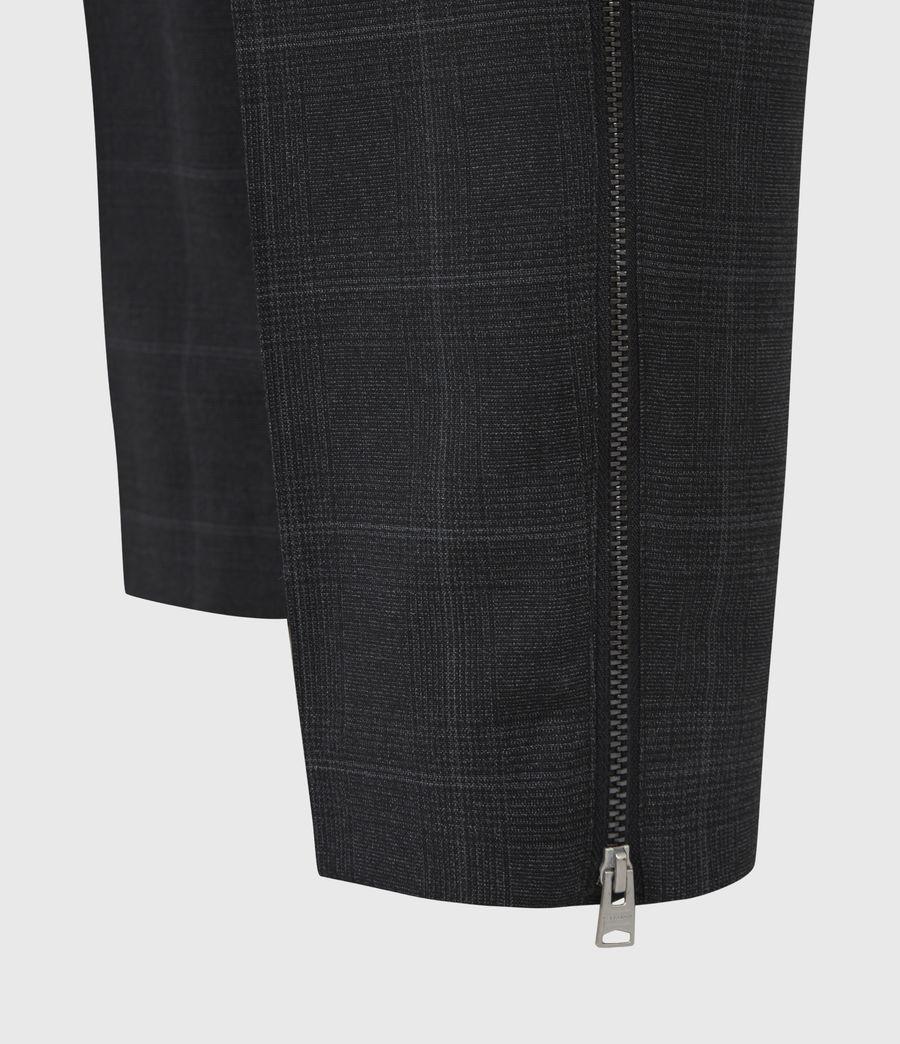 Hommes Pantalon Slim Raccourci Garth (charcoal) - Image 6