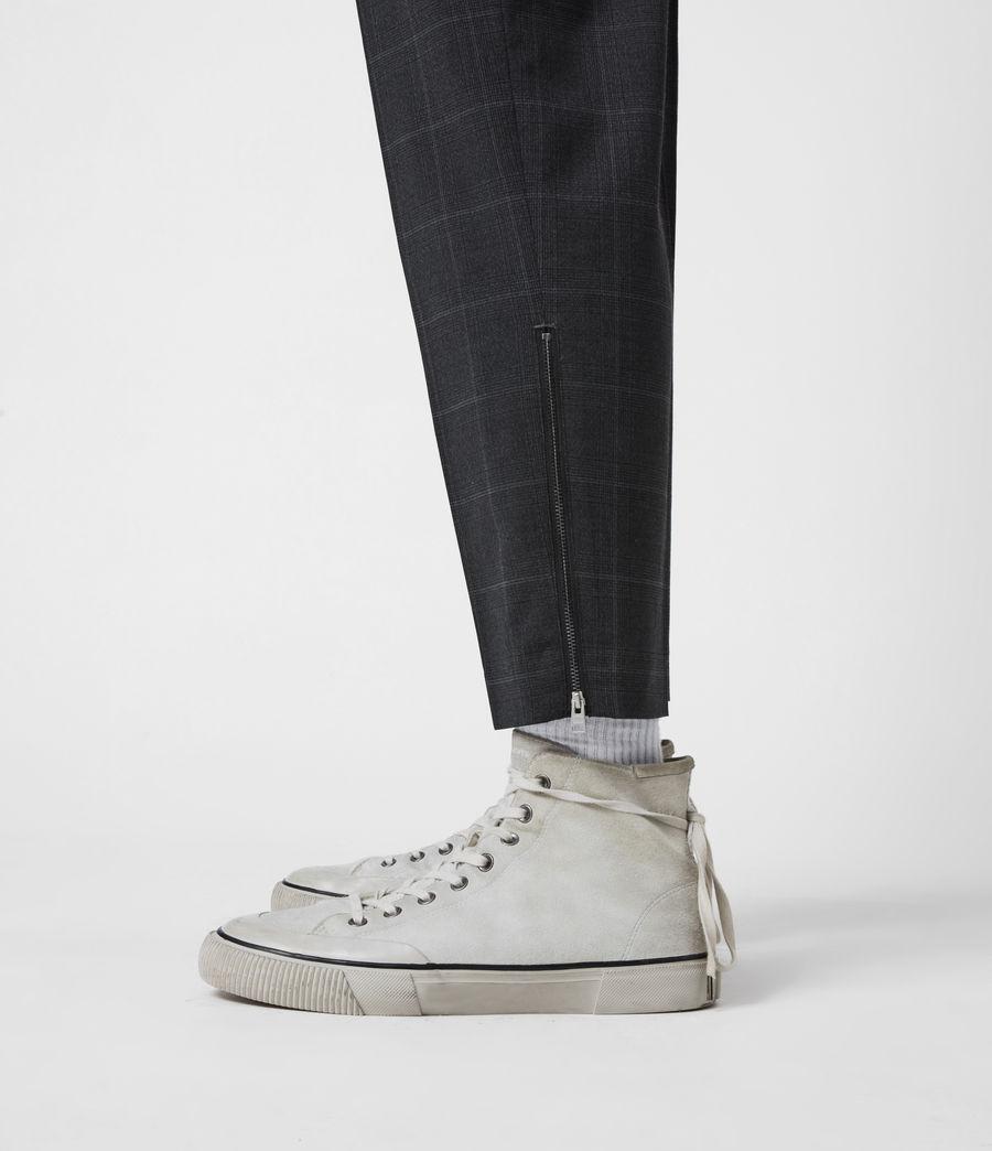 Hommes Pantalon Slim Raccourci Garth (charcoal) - Image 7