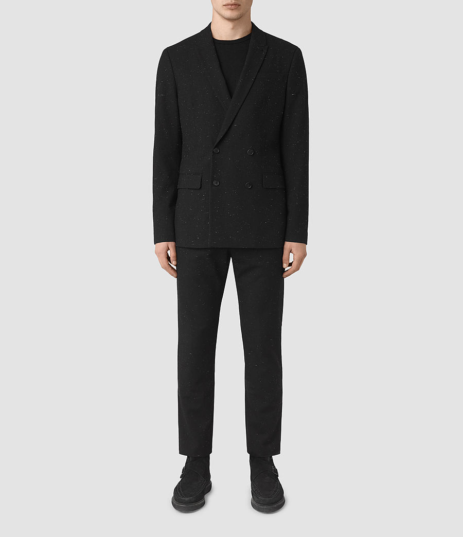 Men's Larkin Blazer (black_white) - Image 1
