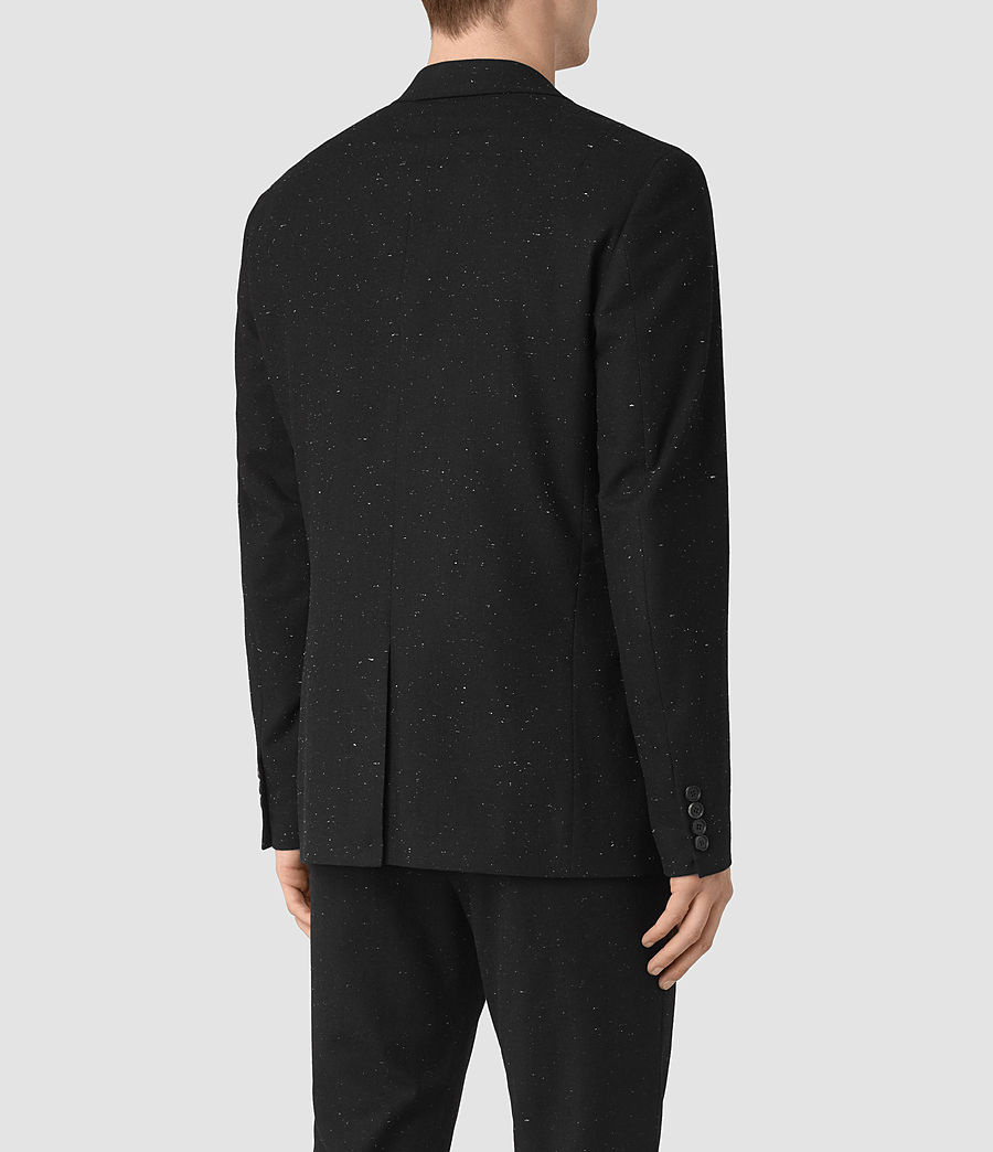 Men's Larkin Blazer (black_white) - Image 5