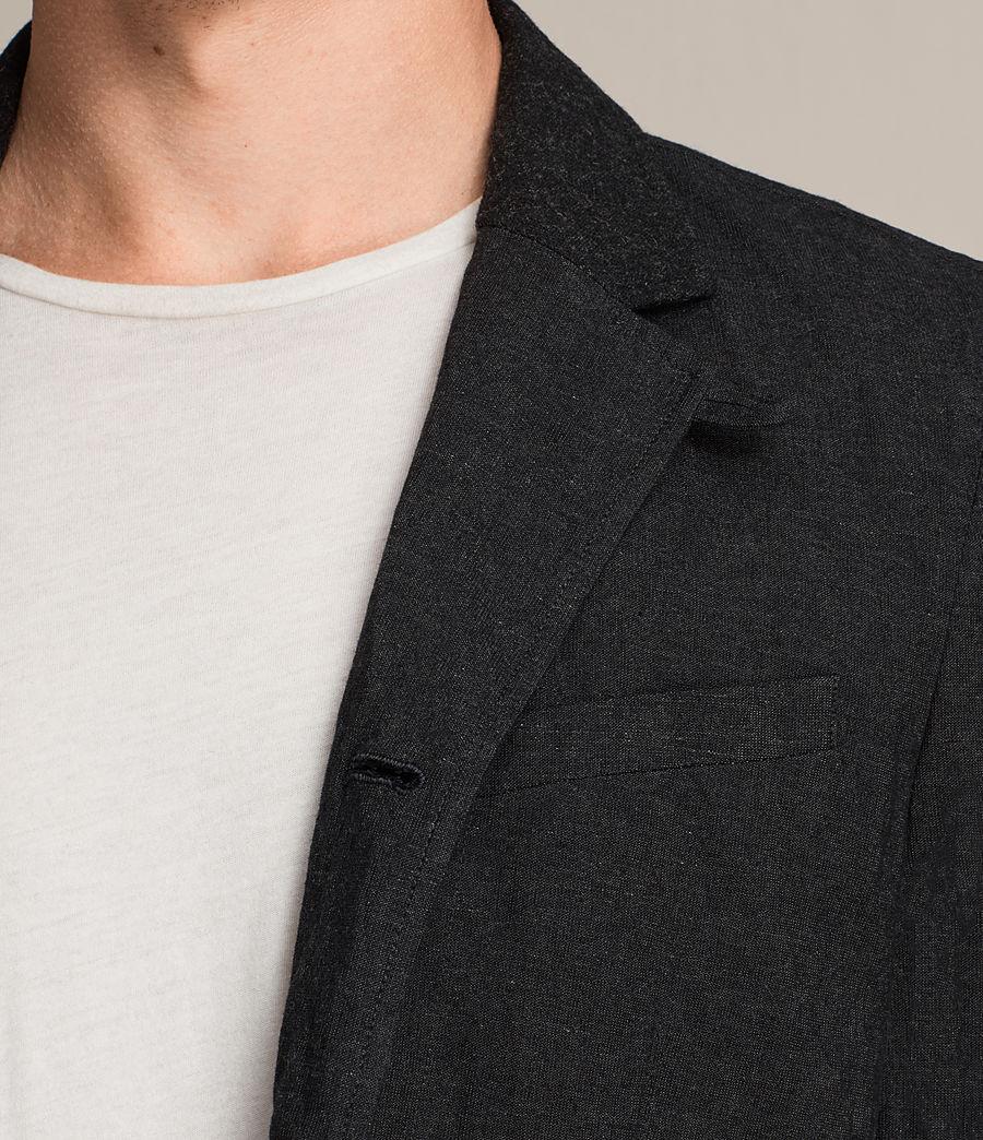 Hommes Blazer Strat (charcoal_grey) - Image 4