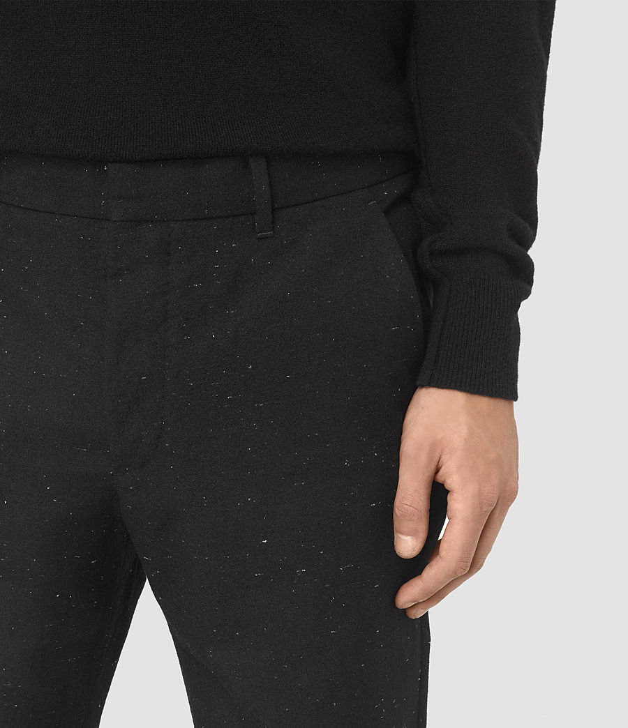 Men's Larkin Trouser (black_white) - Image 2