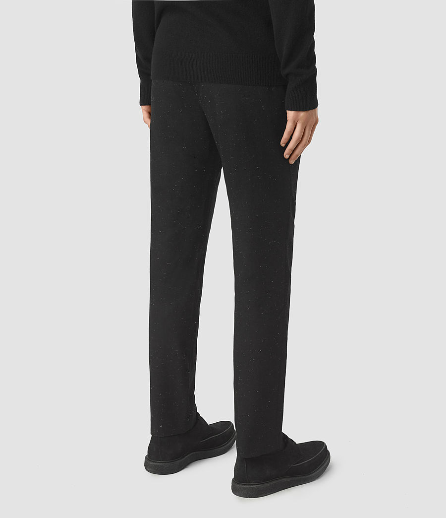 Men's Larkin Trouser (black_white) - Image 4