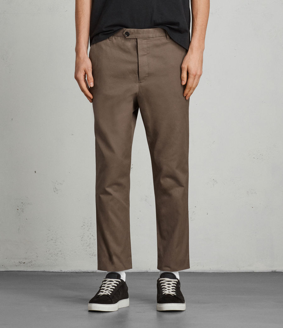Men's Kato Trouser (khaki_green) - Image 1