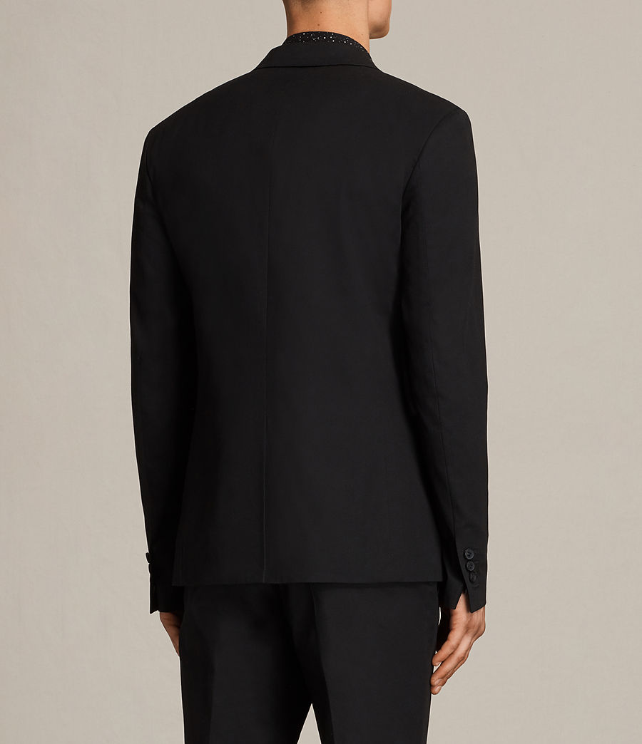 Hombres Blazer Haines (black) - Image 5