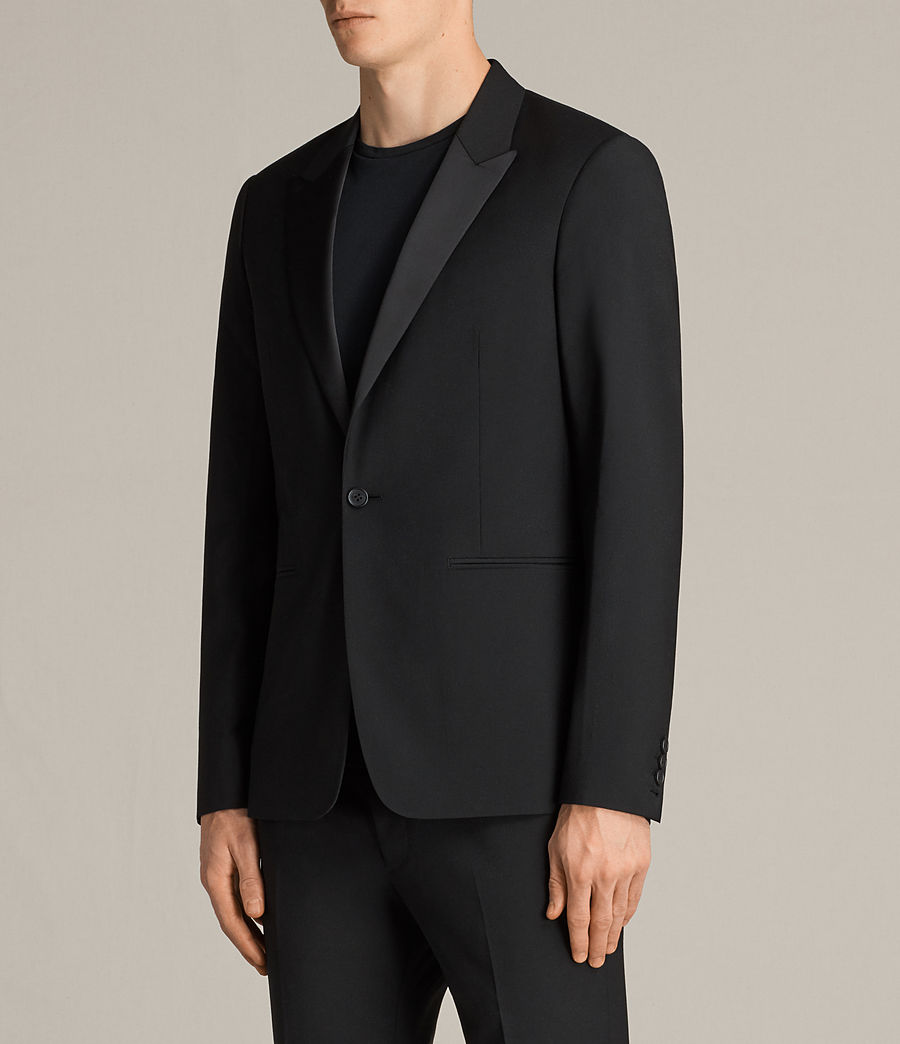 Hombres Blazer Elbridge (black) - Image 4