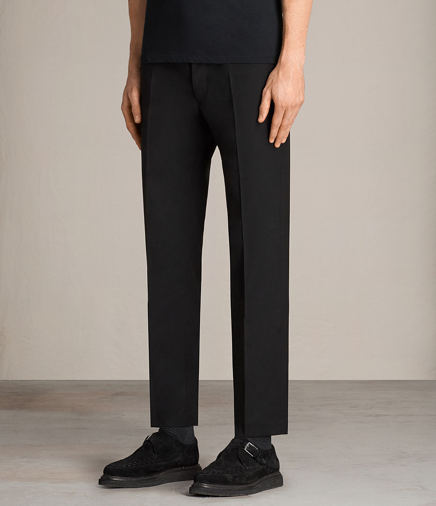 Hommes Pantalon Elbridge (black) - Image 3