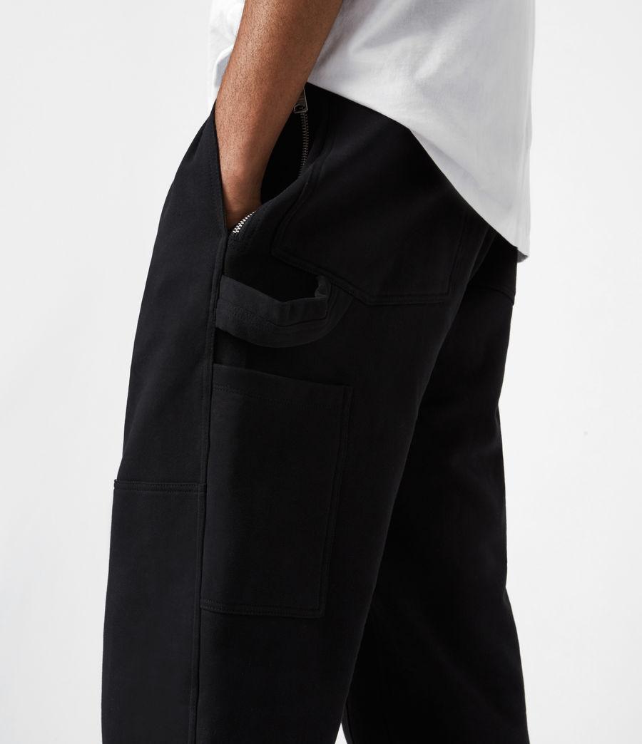Herren Laing Track Sweatpants (black) - Image 7