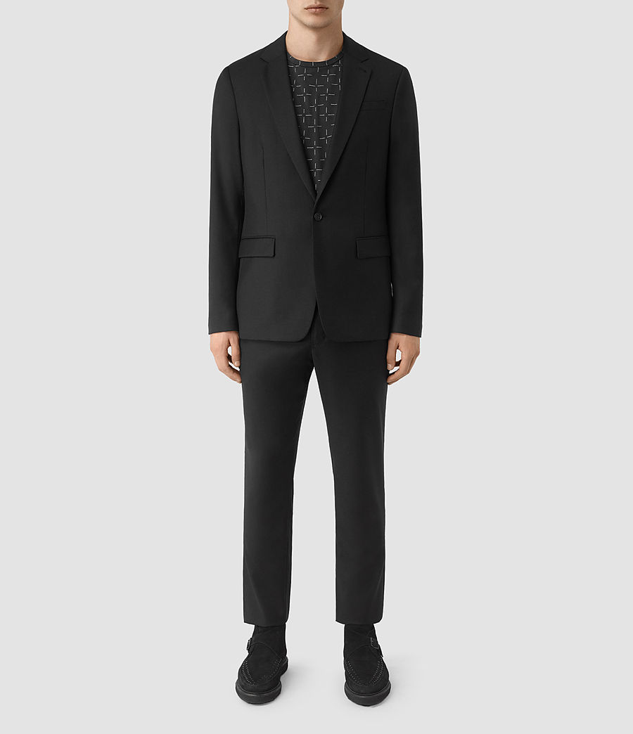 Men's Tera Wool Blazer (black) - Image 1
