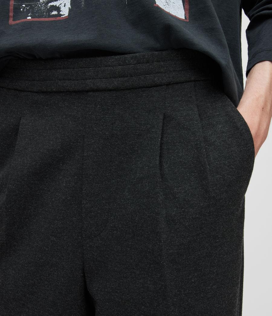 Herren Rein Cropped Slim Trousers (charcoal) - Image 3