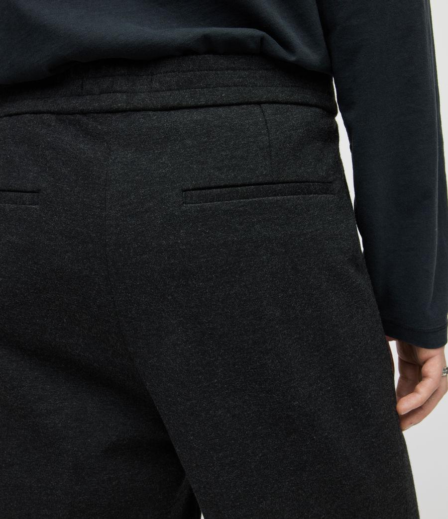 Herren Rein Cropped Slim Trousers (charcoal) - Image 4