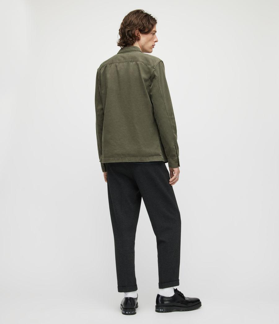 Herren Rein Cropped Slim Trousers (charcoal) - Image 5