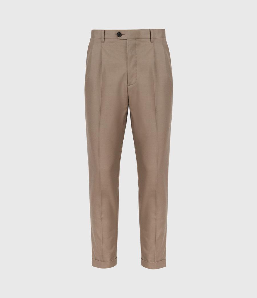 Mens Tallis Cropped Slim Pants (stone_grey) - Image 2