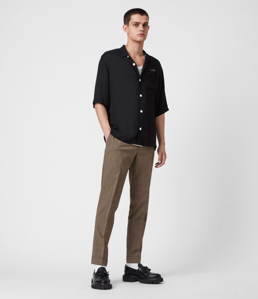 Men's Troy Trousers (brown) - Image 1