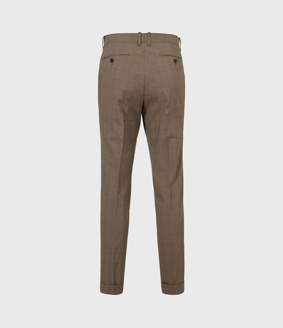 Men's Troy Trousers (brown) - Image 3