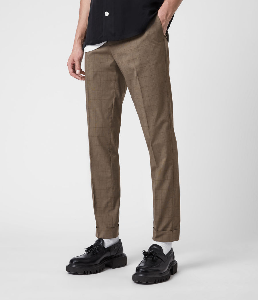 Men's Troy Trousers (brown) - Image 4