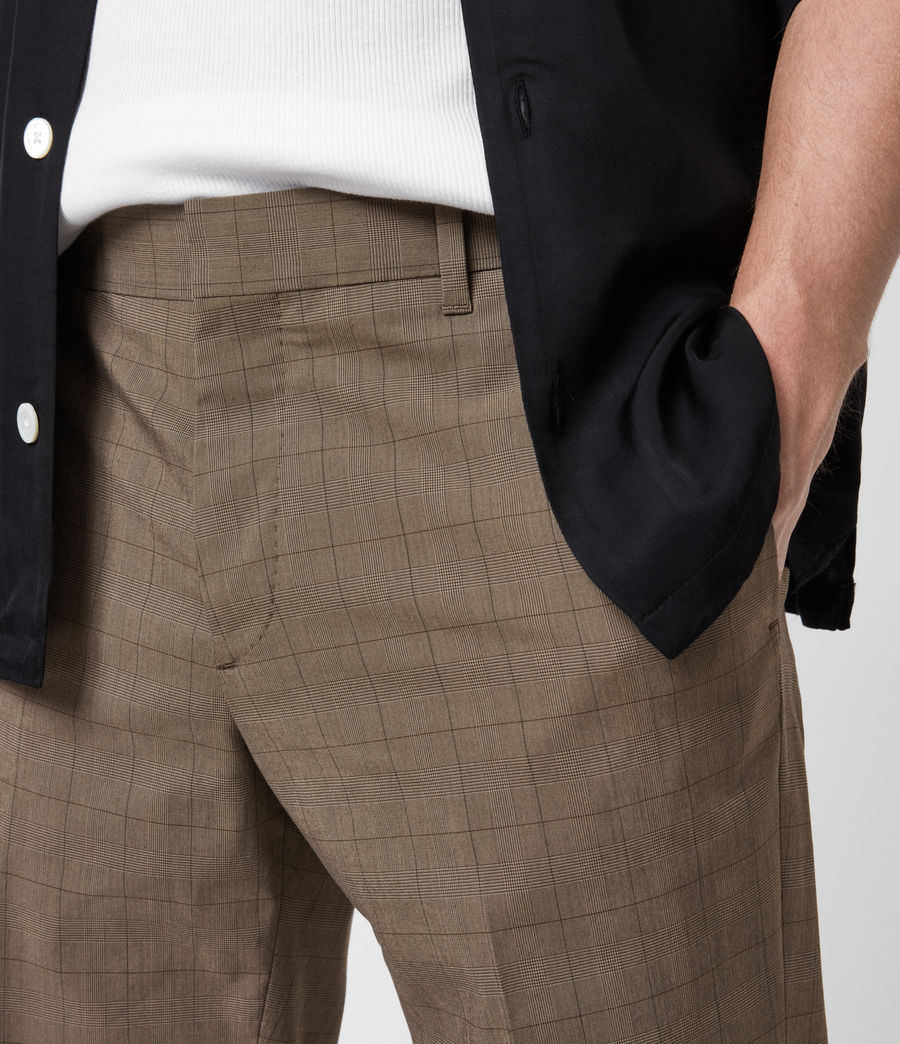 Men's Troy Trousers (brown) - Image 6