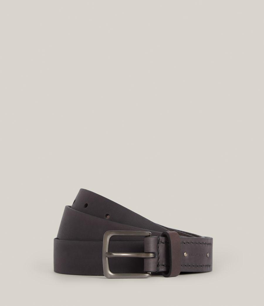 Men's Luca Leather Belt (black) - Image 1