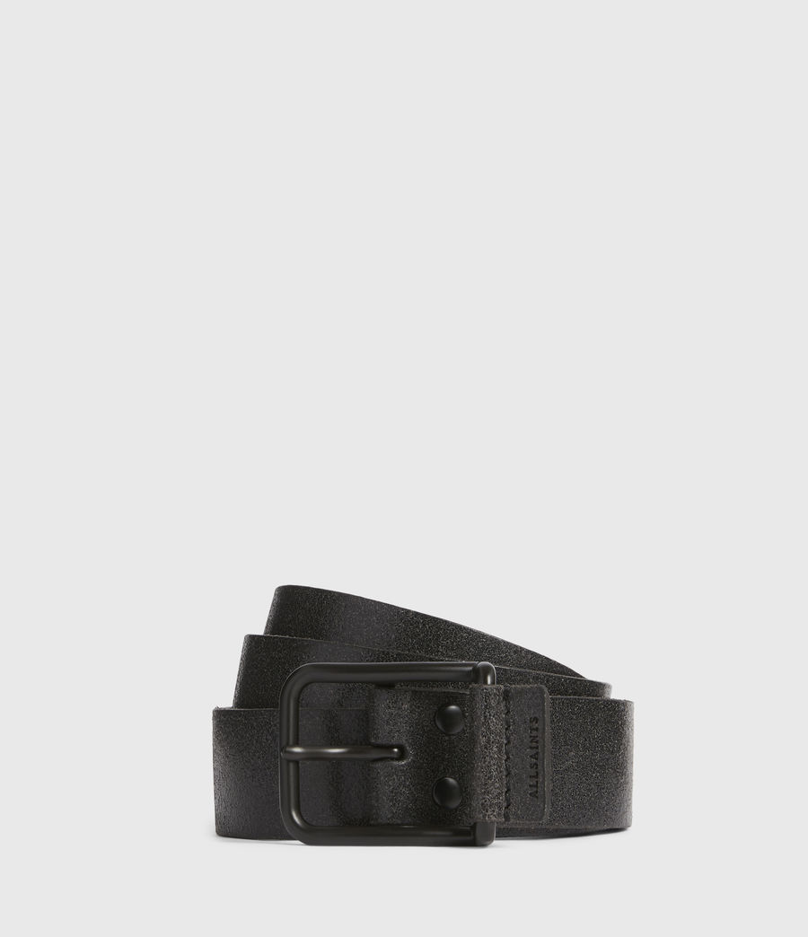 Men's Luke Leather Belt (black) - Image 1