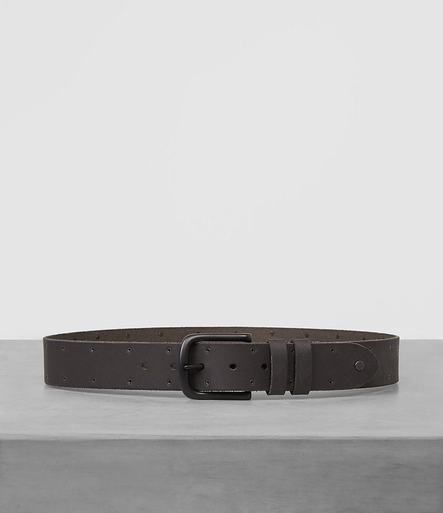 Mens Fort Leather Belt (bitter_brown) - Image 1