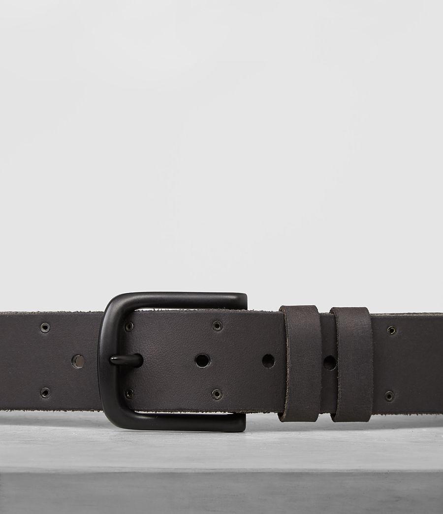 Mens Fort Leather Belt (bitter_brown) - Image 2
