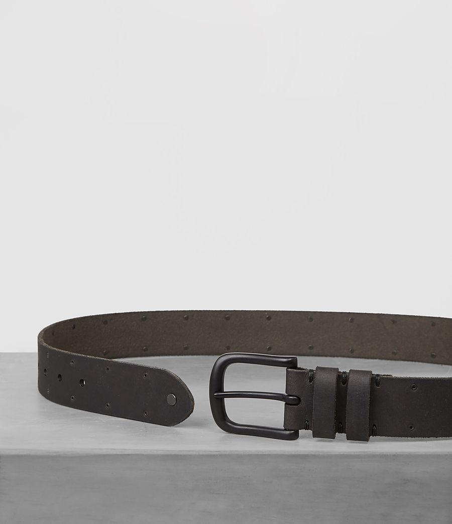 Mens Fort Leather Belt (bitter_brown) - Image 3