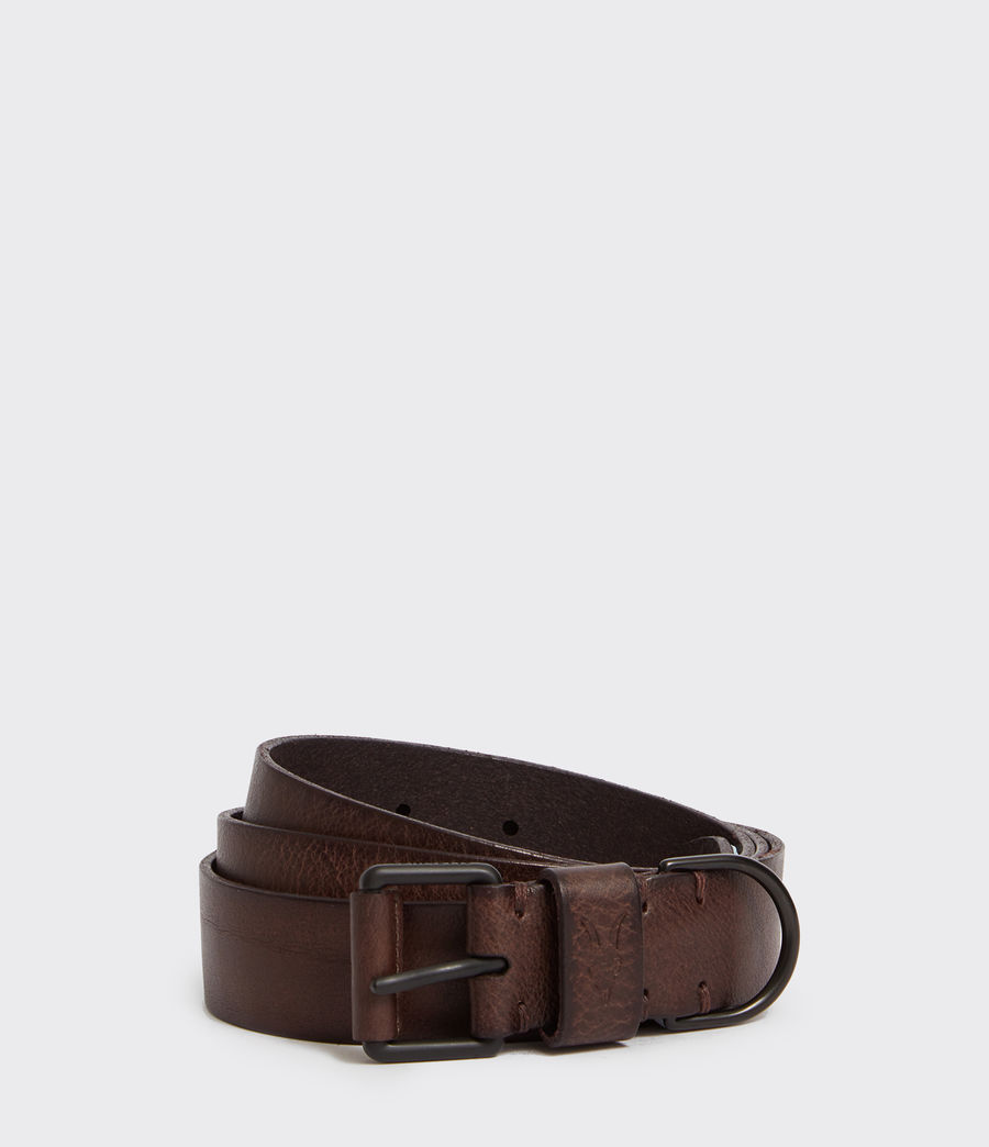 Men's Joel-D Leather Belt (bitter_brown) - Image 1