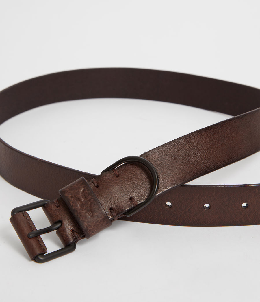 Men's Joel-D Leather Belt (bitter_brown) - Image 2