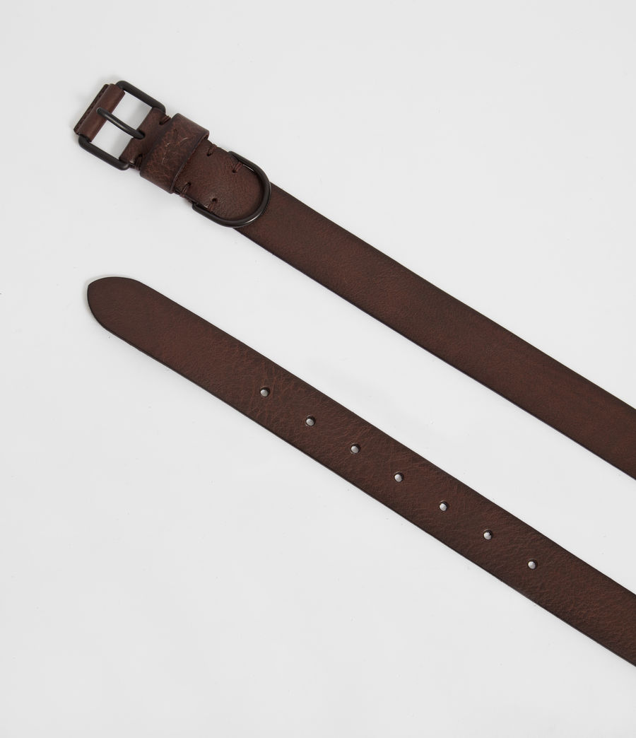 Mens Joel-D Leather Belt (bitter_brown) - Image 3