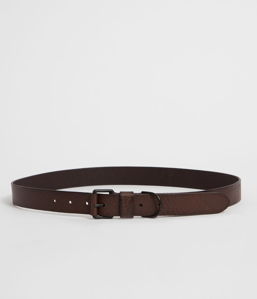Mens Joel-D Leather Belt (bitter_brown) - Image 4