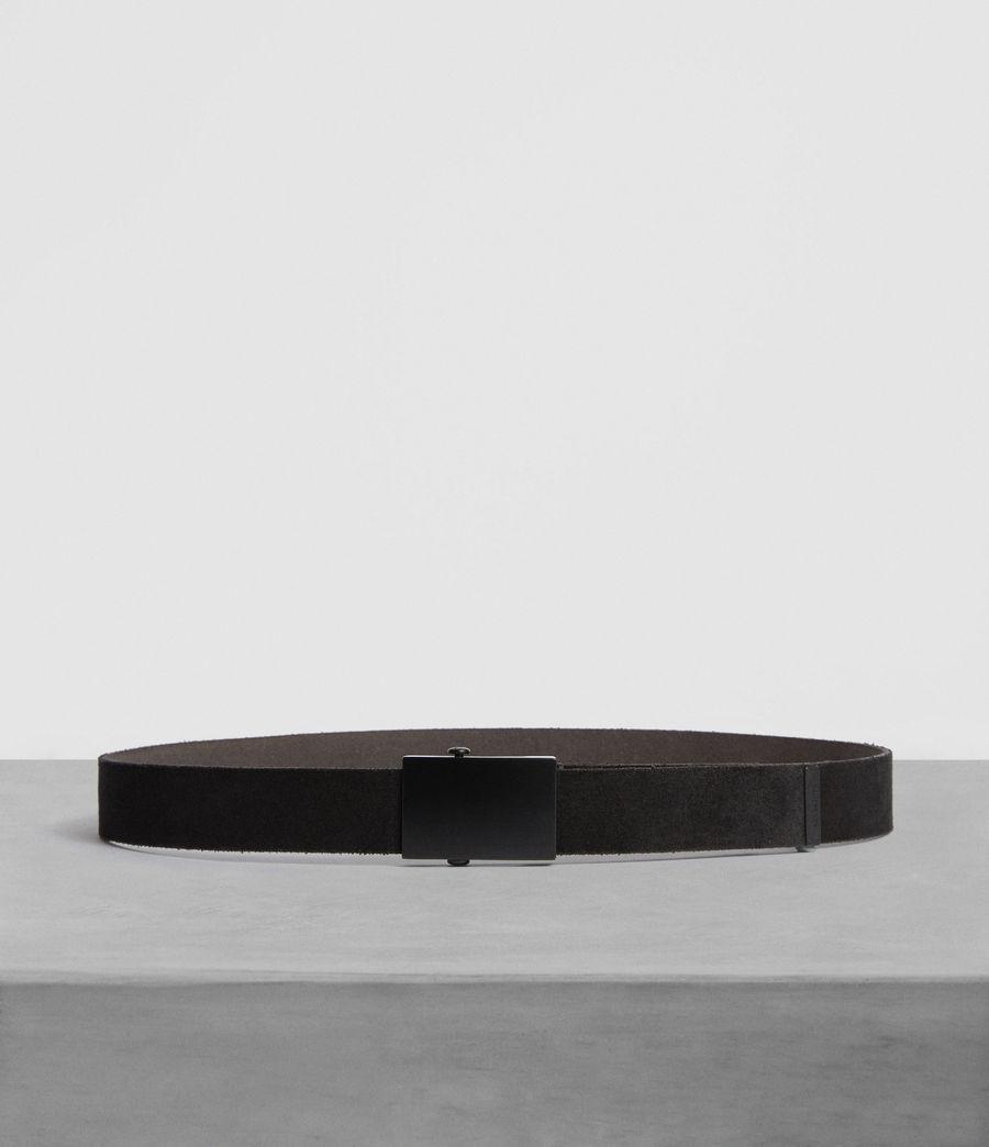 Hombre Oden Leather Belt (black) - Image 1