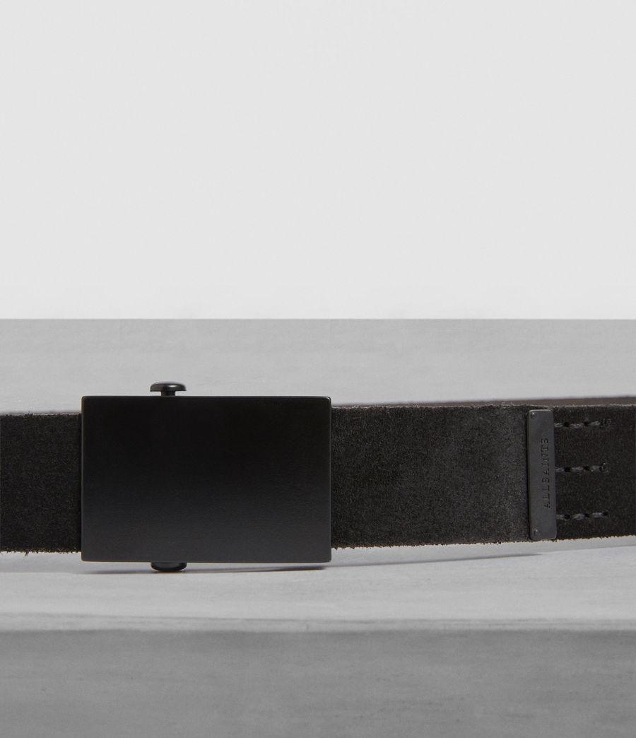 Uomo Oden Leather Belt (black) - Image 2