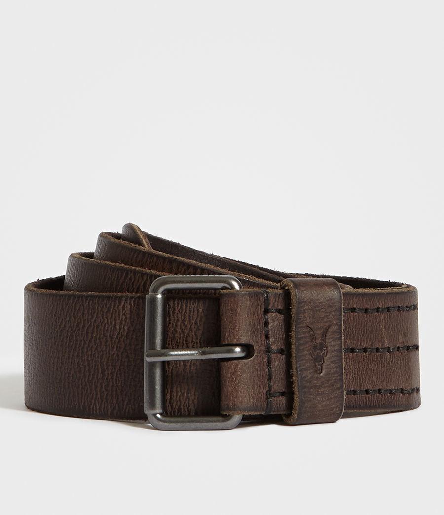 Hombre Dunston Leather Belt (bitter_brown) - Image 1