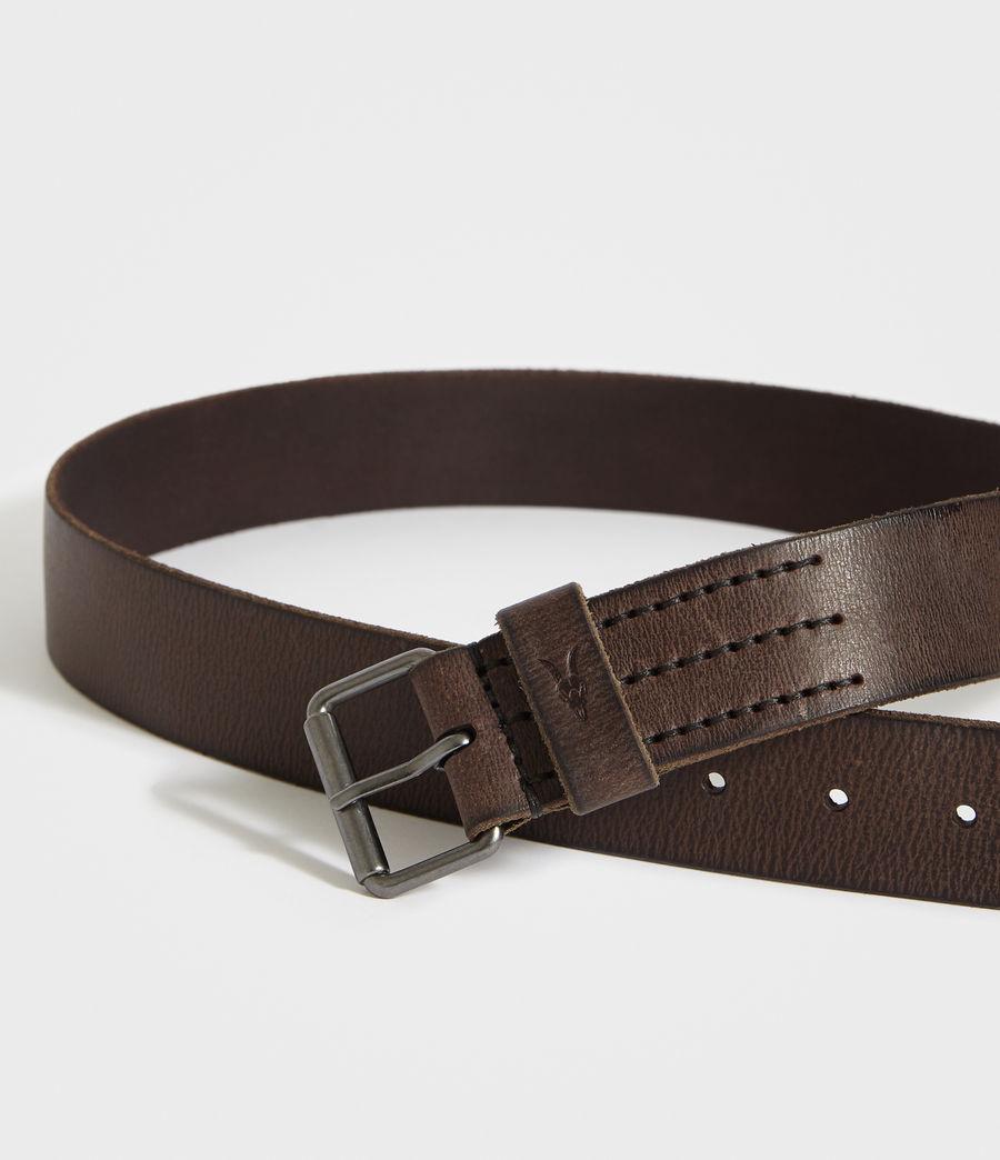 Hombre Dunston Leather Belt (bitter_brown) - Image 2